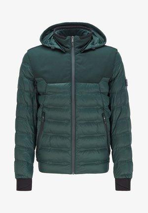 Down jacket - open green