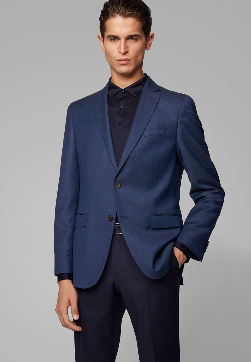 BOSS - NOVAN - Blazer - open blue