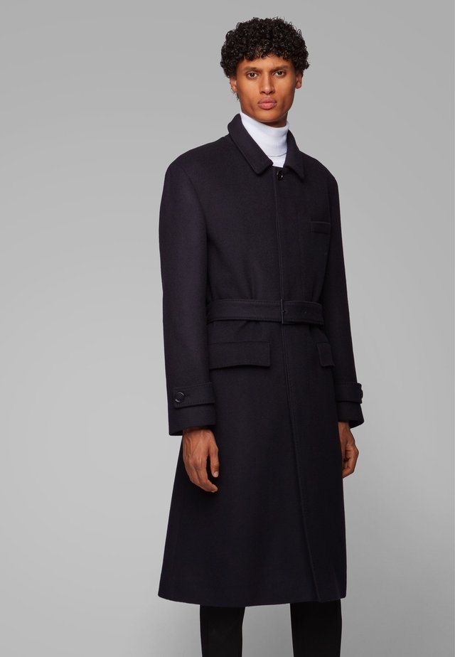 RELAXED FIT - Classic coat - black