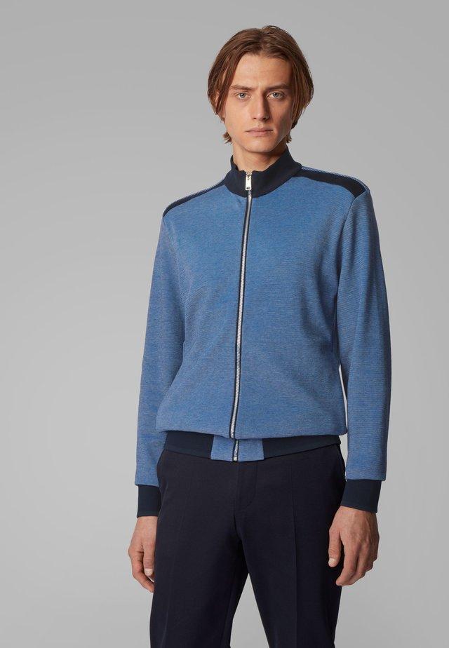 SHEPHERD 25 - Zip-up hoodie - blue