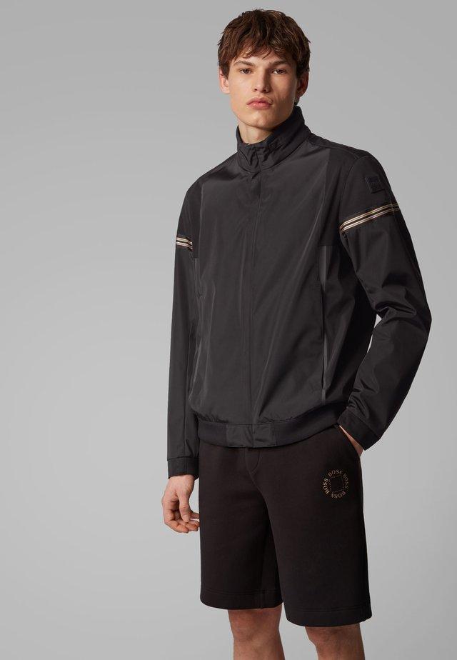 J_SIAK - Summer jacket - black