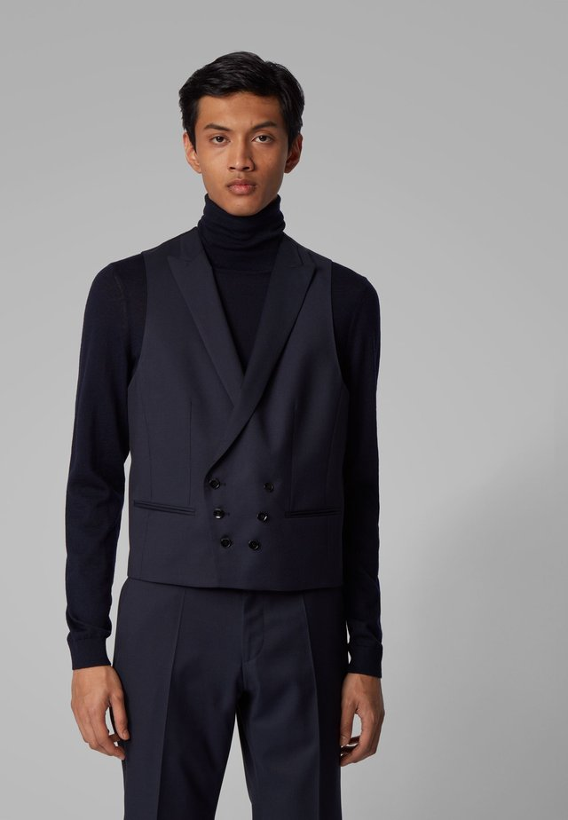 HALWEY WESTE - Suit waistcoat - dark blue