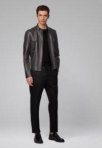 BOSS - NIDAN - Leather jacket - black - 1