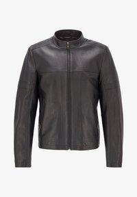 BOSS - NIDAN - Leather jacket - black - 5