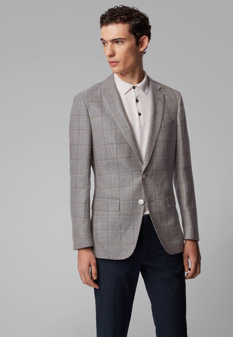 BOSS - HARTLAY1 - Blazer jacket - silver