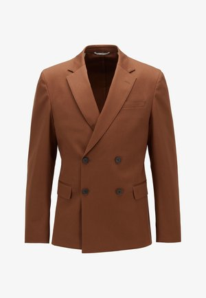 NIELSEN - Blazer jacket - dark brown