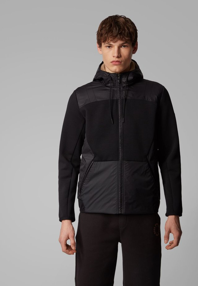 SYBRID - Sweatjacke - anthracite