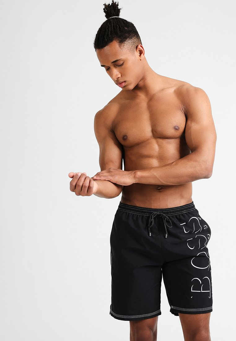 BOSS - KILLIFISH - Swimming shorts - black
