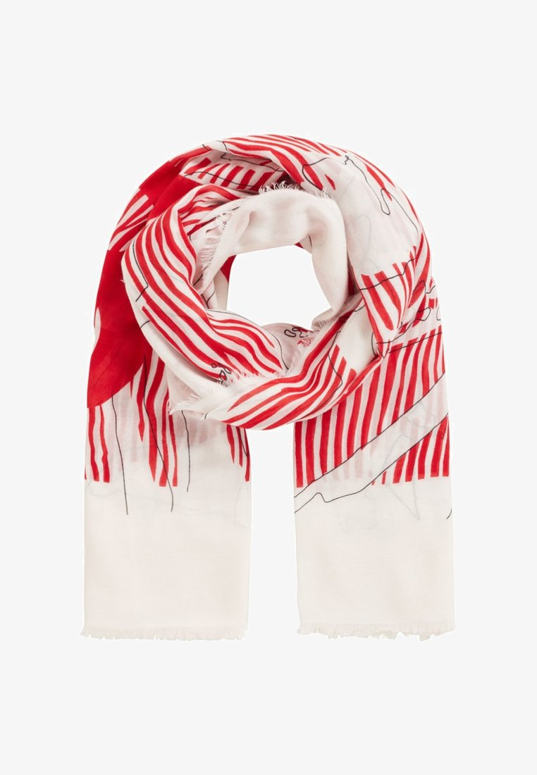 BOSS - NAGALLERY - Scarf - red white