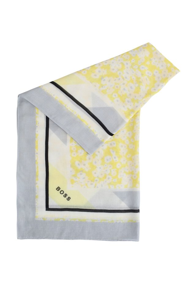 NATYPE - Sjal / Tørklæder - yellow, grey