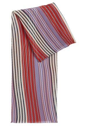 NAPLIS - Scarf - red, white, purple