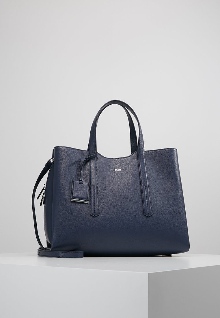 BOSS - TAYLOR TOTE - Håndtasker - dusty blue
