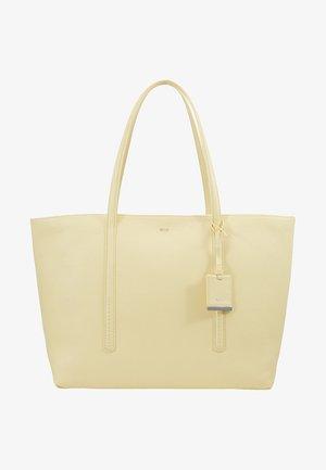 TAYLOR SHOPPER - Shopping Bag - pale yellow
