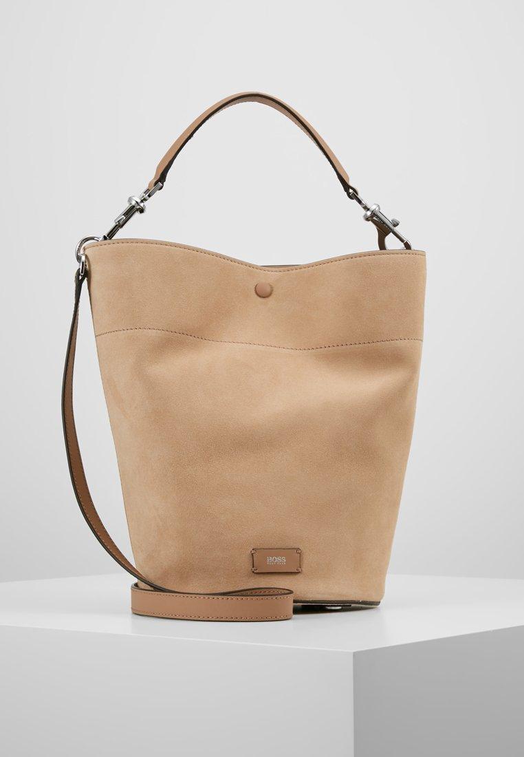 BOSS - VALERY BUCKET - Handbag - sand