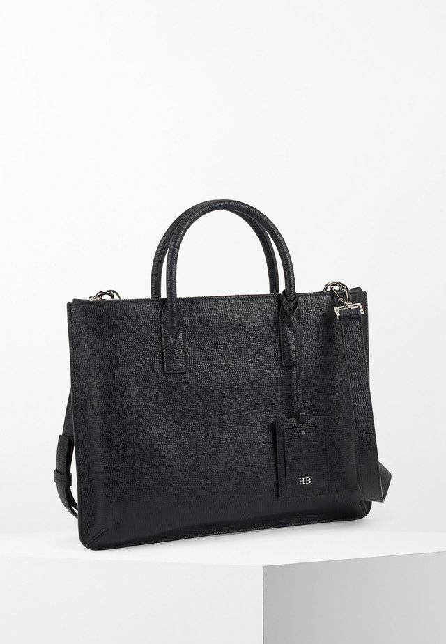 GALLERY SLIM DOC - Briefcase - black