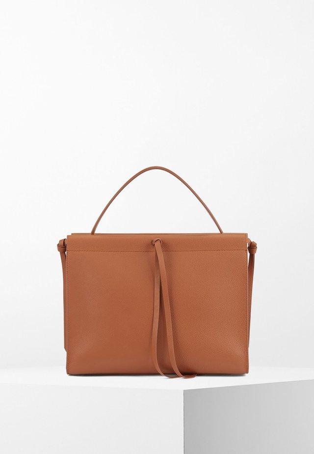 KATLIN SM TOTE-G - Shopping Bag - light brown