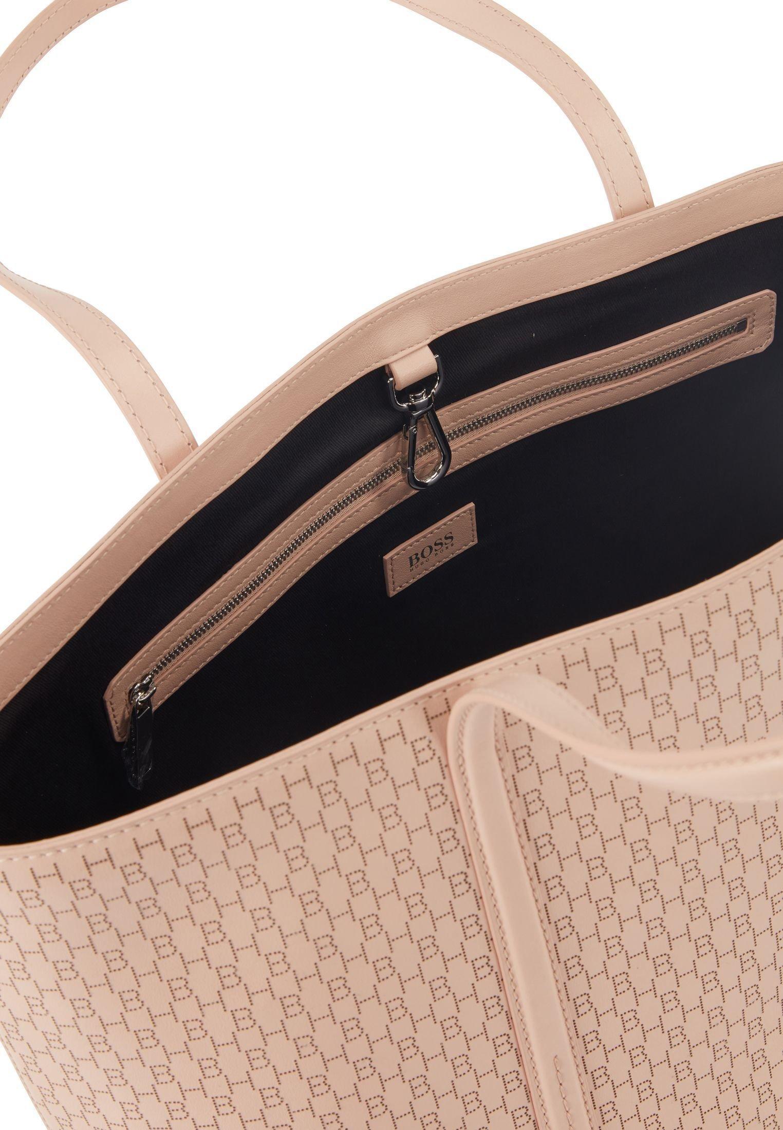 BOSS TAYLOR SH Z-LHB - Shopping bags - light beige