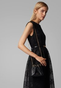 BOSS - KRISTIN MINI DRAWS - Across body bag - black