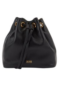 BOSS - KRISTIN MINI DRAWS - Across body bag - black - 0