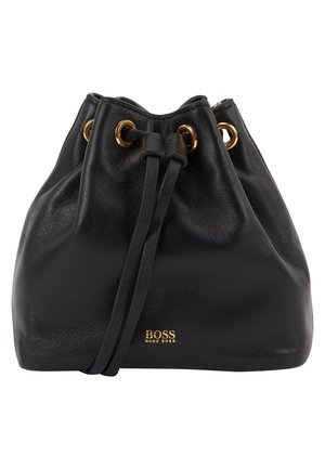 KRISTIN MINI DRAWS - Across body bag - black