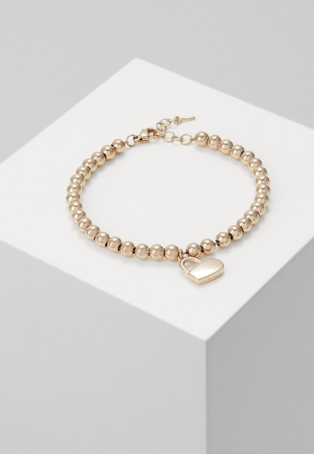 BEADS COLLECTION - Armbånd - rosègold-coloured