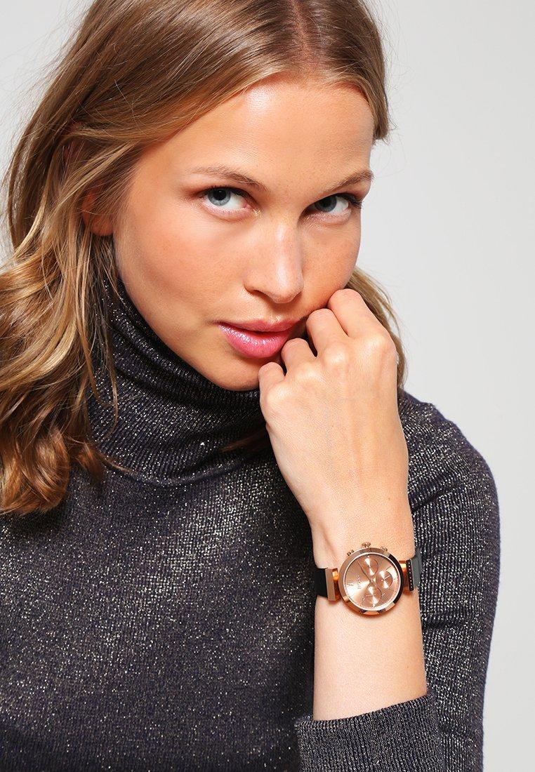 BOSS - Watch - black/rose gold-coloured