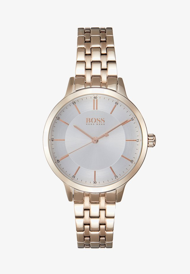 VIRTUE - Montre - rosegold-coloured