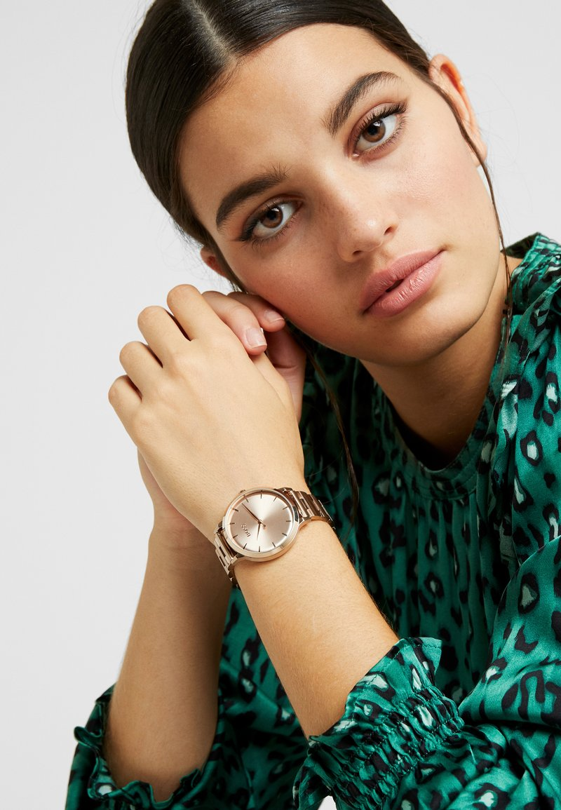 BOSS - MARINA - Horloge - roségold-coloured
