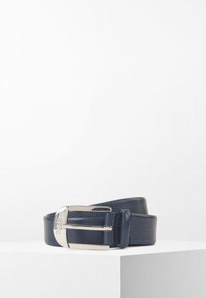NICOLE BELT 3 CM-H - Ceinture - dark blue