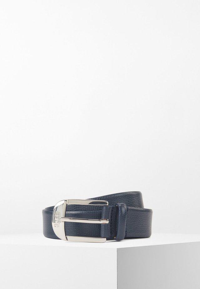 NICOLE BELT 3 CM-H - Gürtel - dark blue