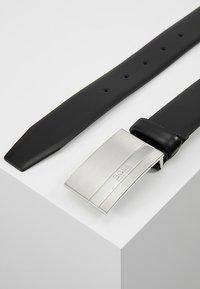 BOSS - BAXTON - Formální pásek - black - 2
