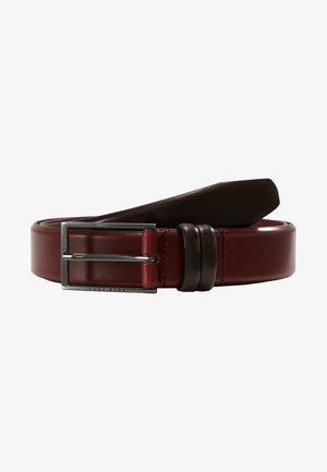 CARMELLO - Belte - dark red