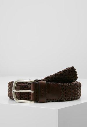 SASH - Belt - dark brown