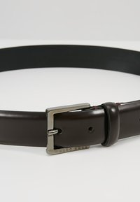 BOSS - CYNGATO - Formální pásek - dark red - 4