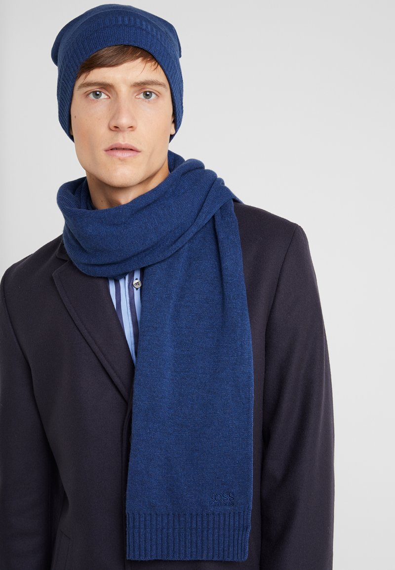 BOSS - SCARF BASIC - Scarf - open blue