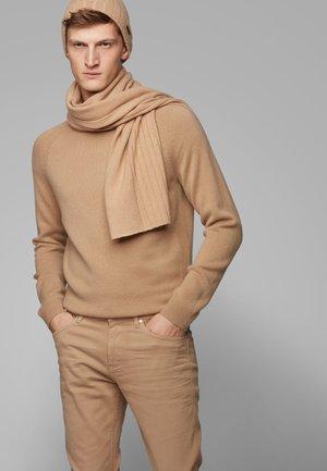 GAVEO SET - Sjal / Tørklæder - beige