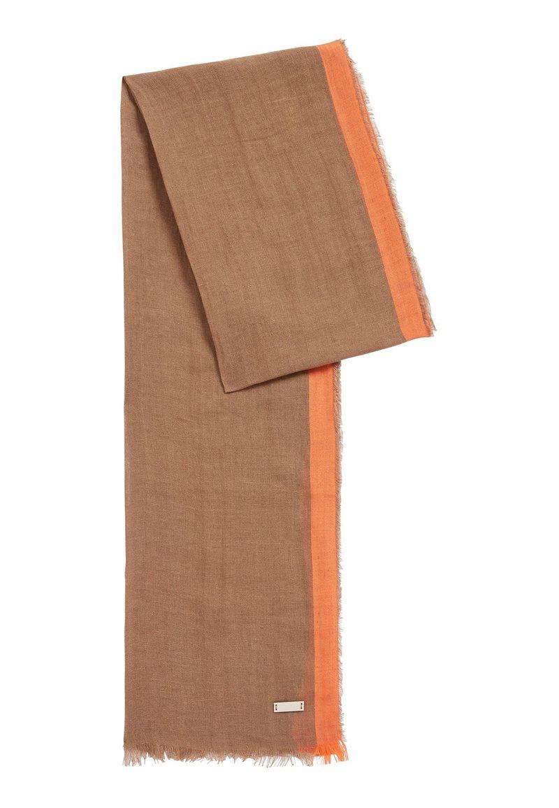 BOSS - ARLO - Scarf - dark brown