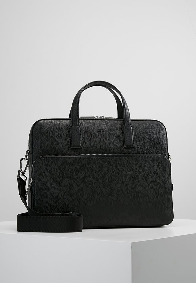 CROSSTOWN DOC CASE - Briefcase - black
