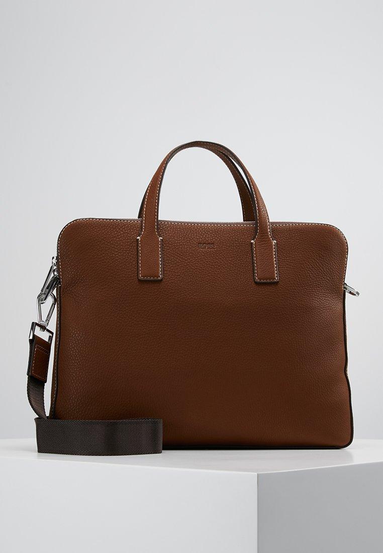 BOSS - CROSSTOWN  ZIPS - Briefcase - light pastel brown