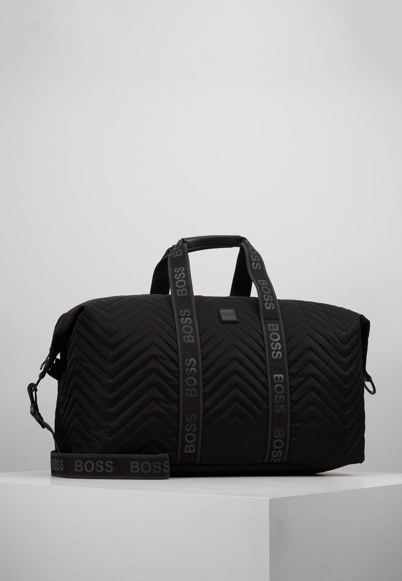 BOSS - PIXEL HOLDALL - Weekend bag - black