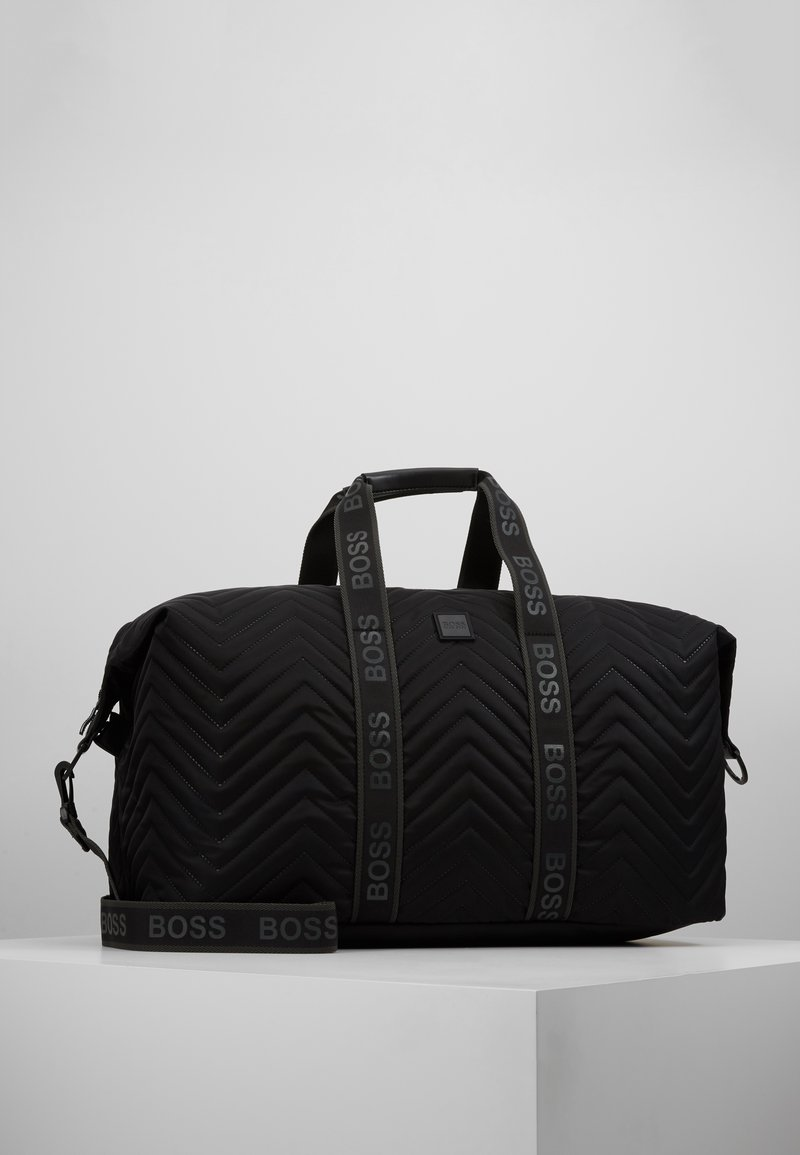 BOSS - PIXEL HOLDALL - Weekend bag - black