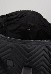 BOSS - PIXEL HOLDALL - Weekend bag - black - 4