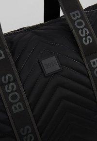 BOSS - PIXEL HOLDALL - Weekend bag - black - 7