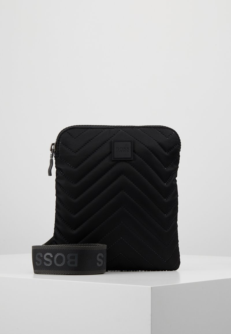 BOSS - PIXEL ZIP  - Schoudertas - black