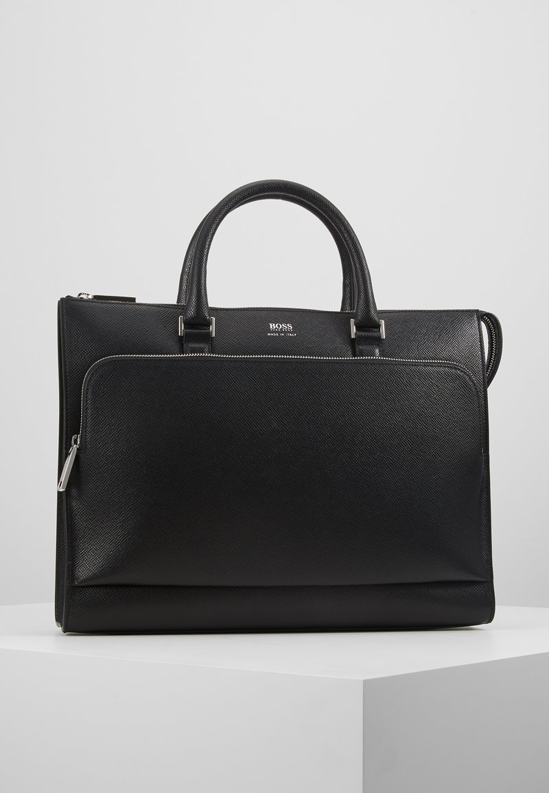 BOSS - SIGNATURE SLIM CASE - Briefcase - black