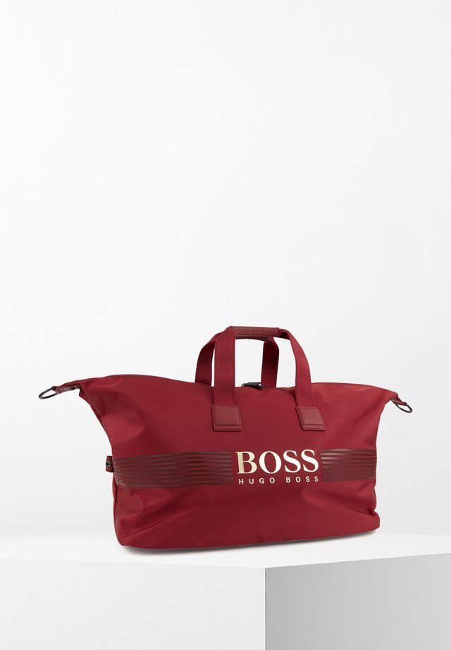 Holdall - dark red