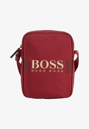 PIXEL C - Across body bag - dark red