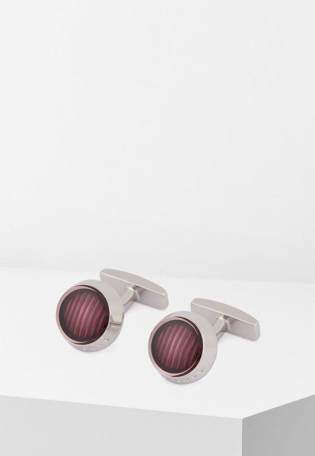 HARPER - Boutons de manchette - purple