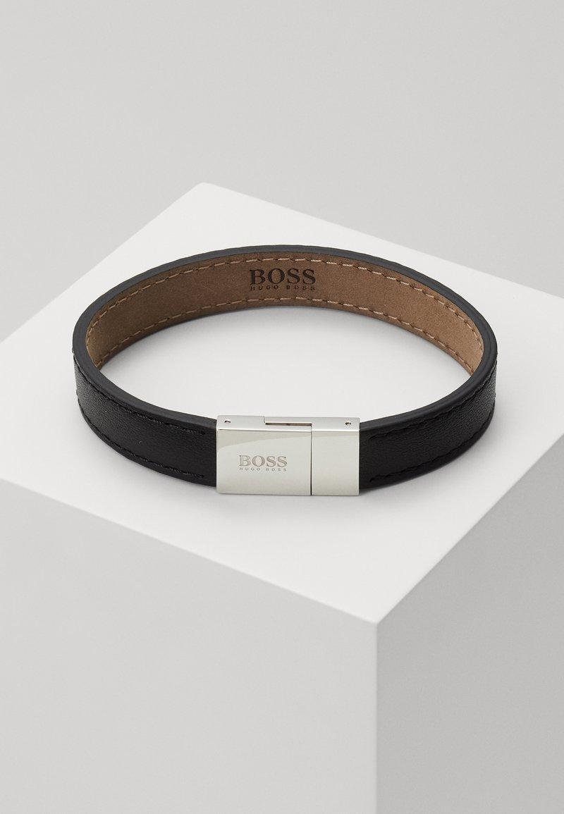 BOSS - ESSENTIALS - Armband - black/silver-coloured