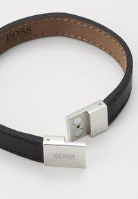 BOSS - ESSENTIALS - Armband - black/silver-coloured - 1